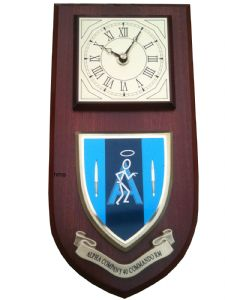 40 Commando Alpha Company Royal Marines Regimental Wall Plaque Clock
